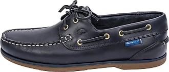 Quayside Unisex Adults Clipper Boat Shoes, Blue (Navy 001), 9.5 UK 44 EU