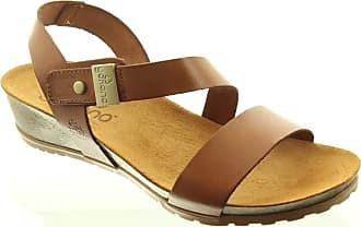 6666a686967 Yokono Ladies Capri 042 Sandals in Tan