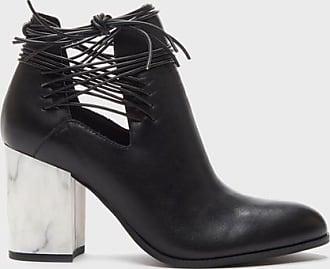 Kelsi Dagger WomenS Wellington Boots Black Cutout Bootie 5.5
