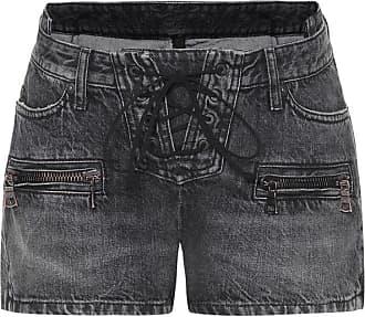 Unravel Denim lace-up shorts