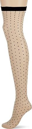 Fiore Womens Gossip/Storia Suspender Stockings, 20 DEN, Beige (Linen), Small (Size: 2)