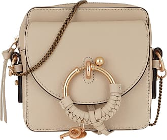 See By Chloé Cross Body Bags - Joan Crossbody Bag Leather Cement Beige - beige - Cross Body Bags for ladies