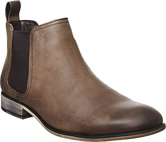 Office Barkley Chelsea Boot Brown Waxy Leather - 10 UK