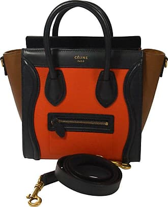 b7502efb9d Celine Céline Mini Luggage Multi-color Calfskin Leather Handle Bag   Rare  Color