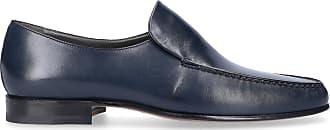 Moreschi Slip-on shoes calfskin dark blue