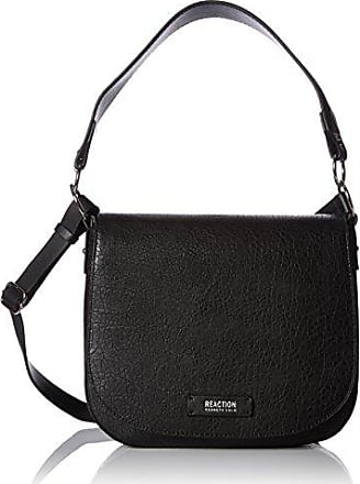 Kenneth Cole Reaction Kenneth Cole Reaction Shoulder Season Saddle Bag, Black