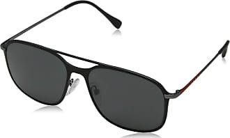 11bb020da1 Prada Sport Mens 0ps 53ts Sunglasses, Black Gunmet Rubber/Grey, 56