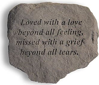 Kay Berry Loved With A Love Beyond All Feeling Memorial Stone - 60420
