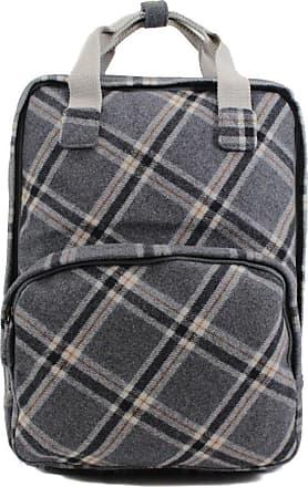 Your Dezire Ladies Tweed Backpack Rucksack School College Shoulder Laptop Bag Womens, DK.Grey/Check