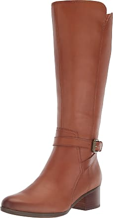 Naturalizer Womens Demetria Knee High Boot, Light Maple, 8.5 Wide