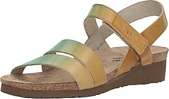 Naot Womens Kayla-Hand Crafted, Mint Beige Leather, 37 M EU / 6-6.5 B (M) US