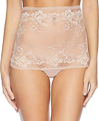 Wacoal Womens Lace to Love Hi Waist Thong Panty, Rose dust, XL
