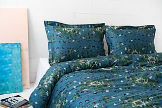 Dreamon Bedding Set Crown Of Flower Green Blue