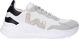 Womsh Sneaker low WAVE Apple Skin VEGAN Logo weiß-kombi