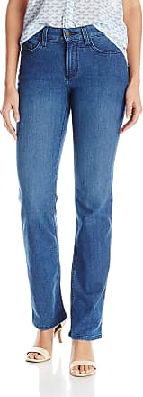 NYDJ Womens Marilyn Straight Jeans, Yucca Valley, 2