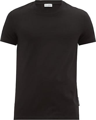 Dolce & Gabbana Logo-print Stretch-cotton Pyjama T-shirt - Mens - Black