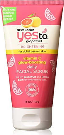 Yes To Grapefruit Vitamin C Glow Boosting Daily Facial Scrub, 4 Ounce