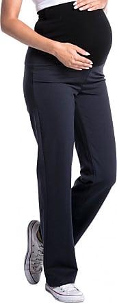 Zeta Ville Zeta Ville - Womens Pregnancy Pants. Available in 3 Leg Lengths - 691c (Medium Length Graphite, UK 16/18, 2XL)