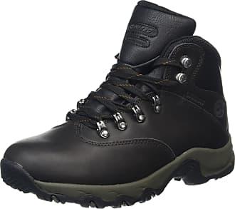 Hi-Tec Womens Ottawa II WP High Rise Hiking Boots, Brown (Dk Chocolate 41), 7.5 EU