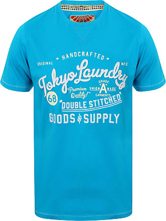 Tokyo Laundry Bailey Springs T-Shirt in Turquoise S