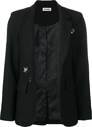 Zadig & Voltaire Very gem embellished blazer - Black