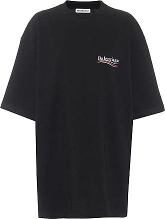 Balenciaga Oversize T-Shirt aus Baumwolle