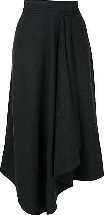 Karen Walker Galvanize wrap skirt - Grey