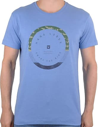 Hang Loose Camiseta Hang Loose Army - Azul - P