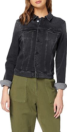 Tommy Jeans Womens Slim Trucker Vivian PBLK Jacket, Blue (Denim Bz), 10 (Size:M)