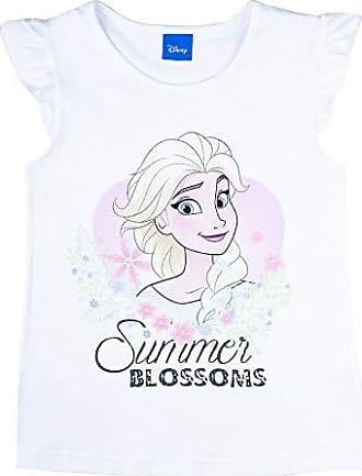 inkl Disney M/ädchen T-Shirt zum Ausmalen mit ELSA-Aufdruck Stiften