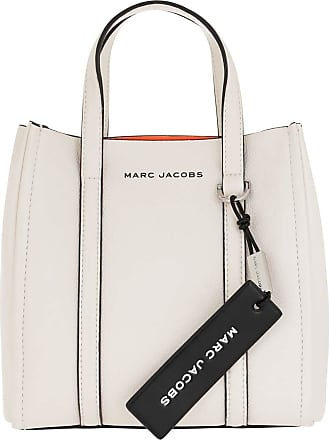 Marc Jacobs Cross Body Bags - The Mini Tag Tote Leather Porcelain - white - Cross Body Bags for ladies