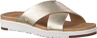 UGG Goldfarbene UGG Pantolette Kari Metallic