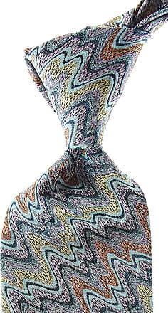 Missoni Ties On Sale, Light Sea Green, Silk, 2017, one size