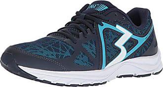 361° Womens 361-RAMBLER Running Shoe, Midnight/Aqua Blue_7056, 6.5 M US