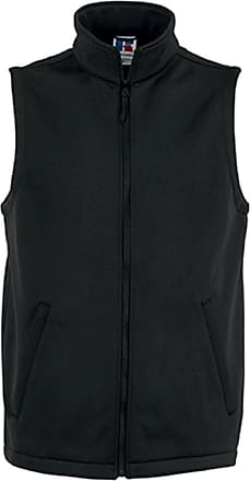 Russell Athletic Russell Mens Smart Softshell Workwear Gilet Black M