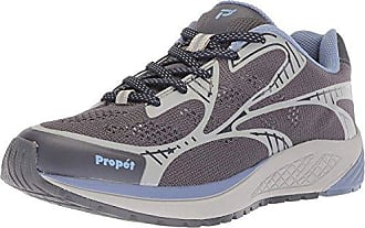 Propét Propet Womens One LT Sneaker, Lavender/Grey, 6.5 2E US