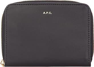 A.P.C. Emmanuelle Compact Wallet - Black