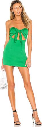 Superdown Luciana Mini Dress in Green
