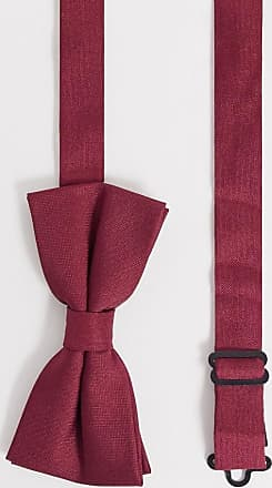 Twisted Tailor bow tie in burgundy-Red