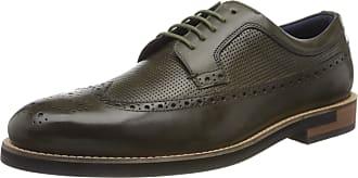 Ted Baker Ted Baker Mens DYLUNN Shoes, Green (Khaki), 9.5 UK 43.5 EU