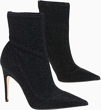 Sergio Rossi Lurex Sock Boots 11 cm size 39,5