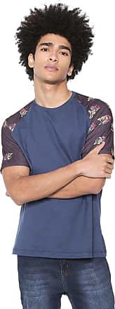 Doc Dog Camiseta Doc Dog Manga Curta Raglan Azul-marinho