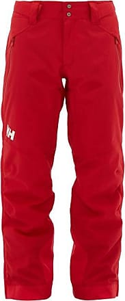 Helly Hansen Falcon Technical Shell Zip Trousers - Mens - Red