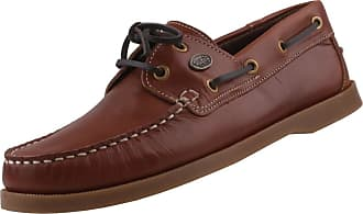 Dockers by Gerli mens brown and natural boat moccasins shoes Brown Size: 7 UK