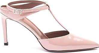 L'autre Chose Fashion Woman LDL05285CP8018 Pink Leather Heels | Spring Summer 20