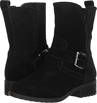 1a4526c4d40af Easy Spirit Womens Reach Ankle Boot, Black, 6.5 M US