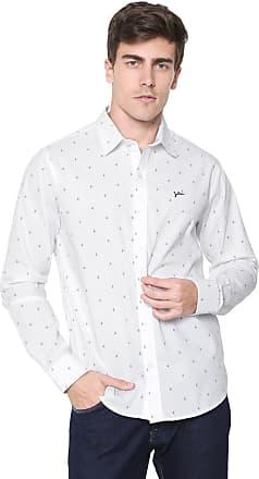 Yachtsman Camisa Yachtsman Reta Estampada Branca