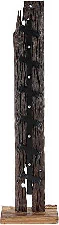 UMA Enterprises Inc. Deco 79 57269 Wine Holder Dark Brown/Black