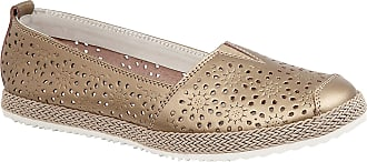Boulevard Ladies Summer Shoes and Sandals Bronze, Ladies UK 7 / EU 40