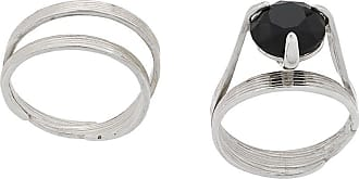 Wouters & Hendrix My Favourites onyx stone ring - SILVER